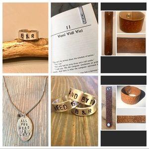 Jewelry - HANDMADE CUSTOMIZED JEWELRY
